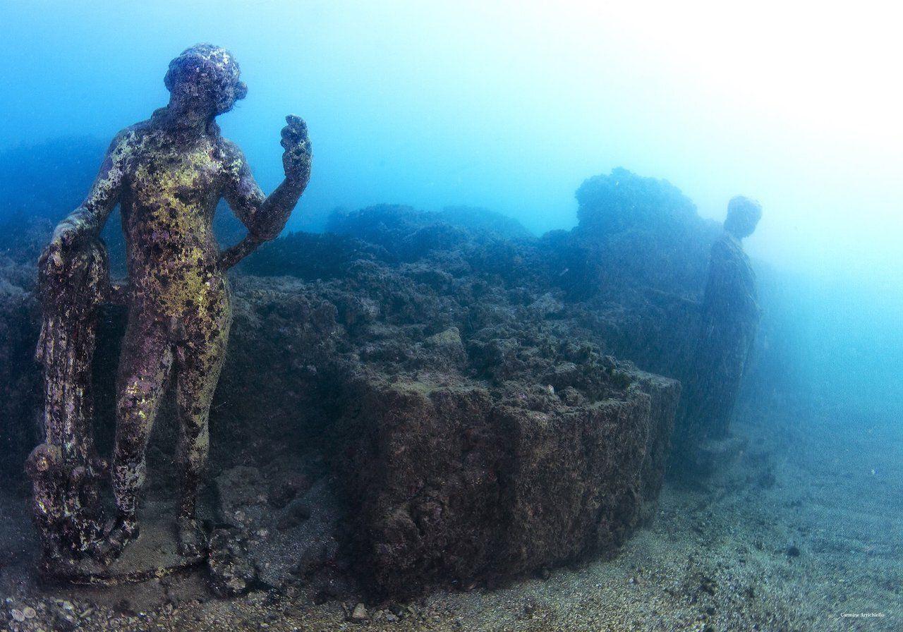 Baiae-Italy-underwater-city, Underwater cities