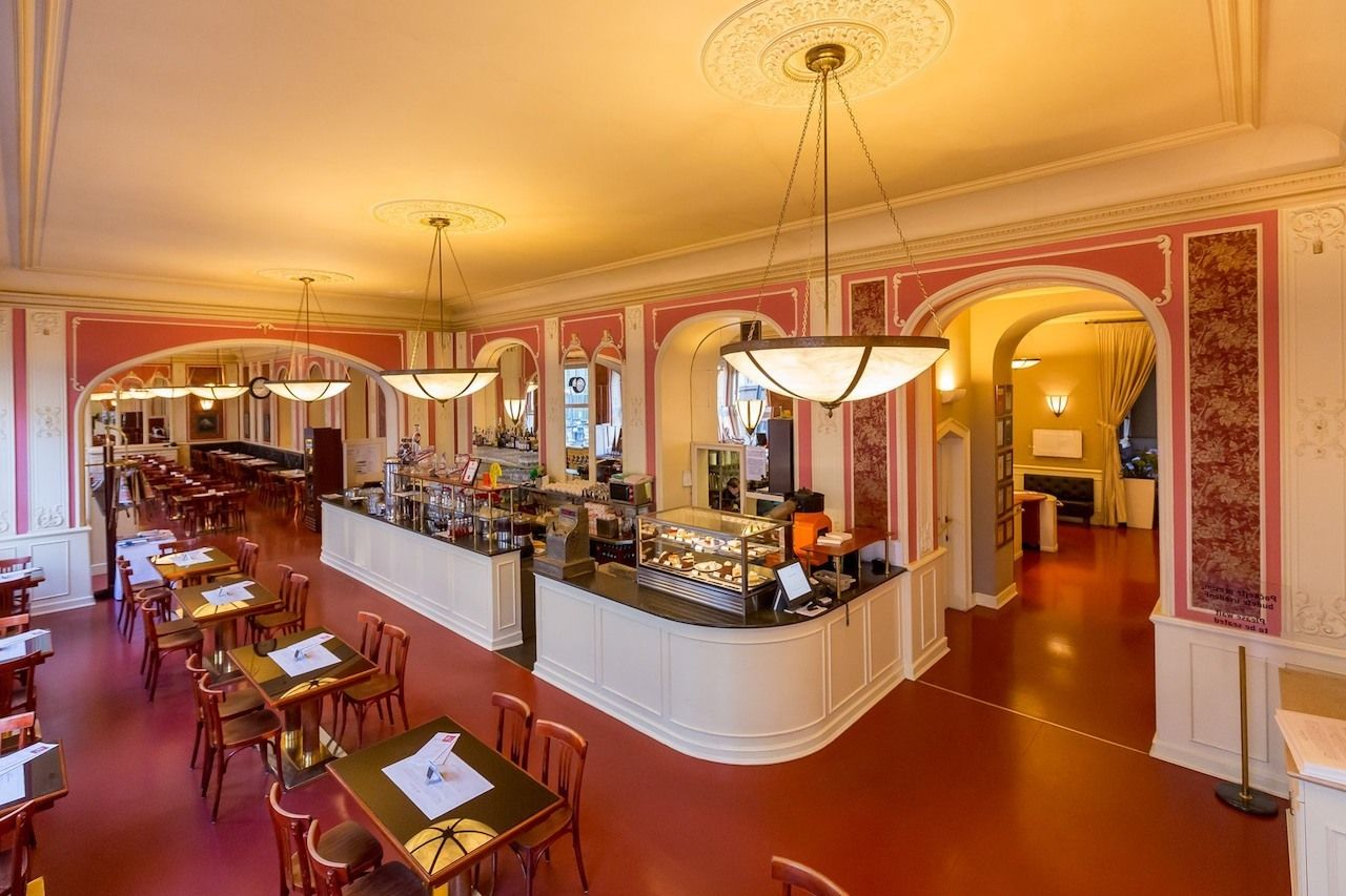Cafe-Louvre-Prague-New-Town,  New Town