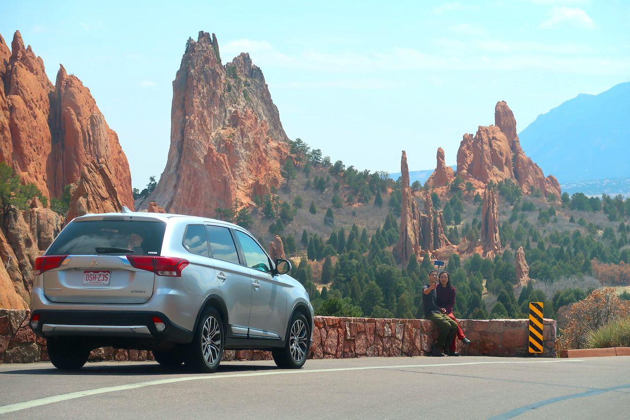 Colorado,Springs,,Co,Usa,-,April,14,,2021:,A,Happy, Colorado summer road trip
