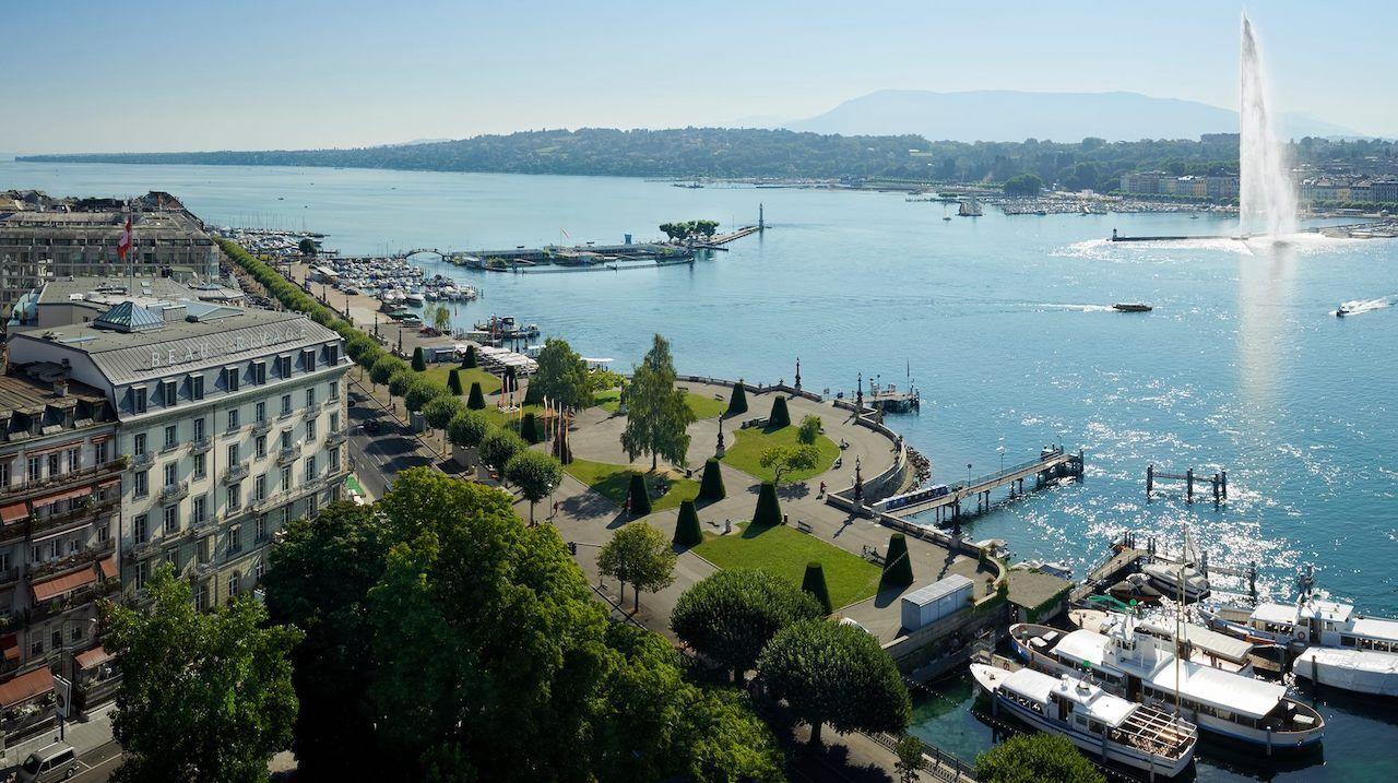 Epic views from Hotel Beau Rivage, Geneva, Switzerland, Switzerland views