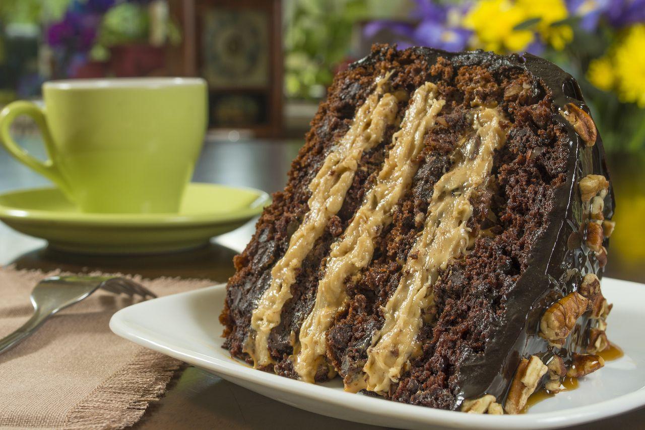 german chocolate cake, food names