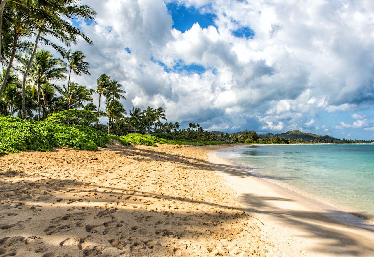 Kailua Beach on Oahu Island, Hawaii's Islands
