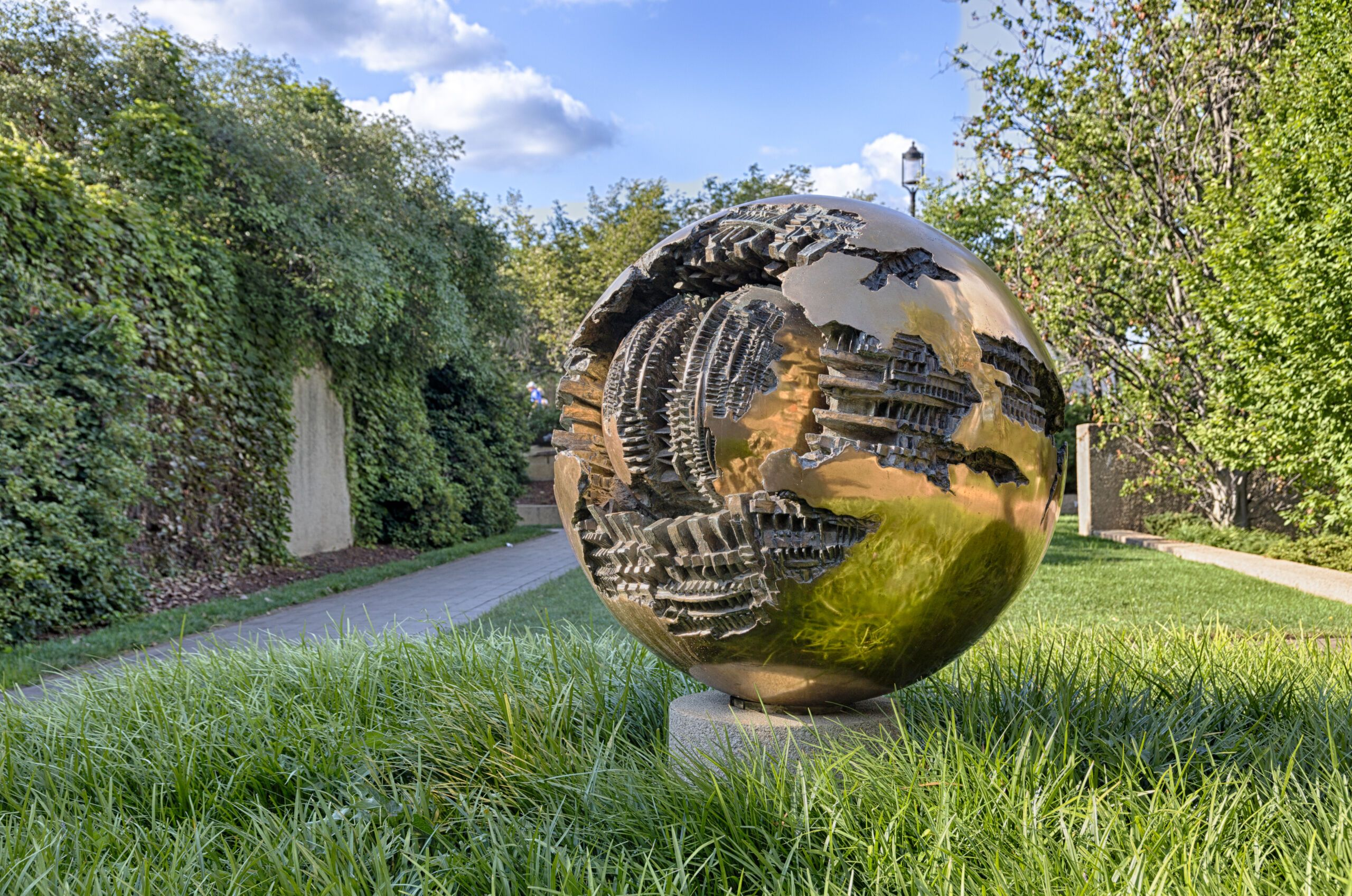 Washington,Dc,,Usa,-,August,5th,2017,-sphere,No.,6, Smithsonian museums
