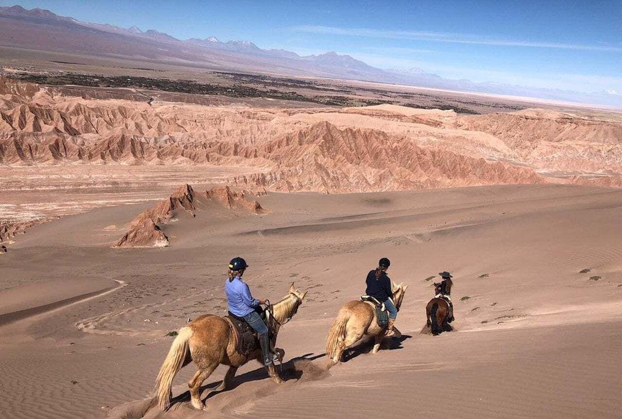 Horseback riding Atacama Chile, Atacama Desert