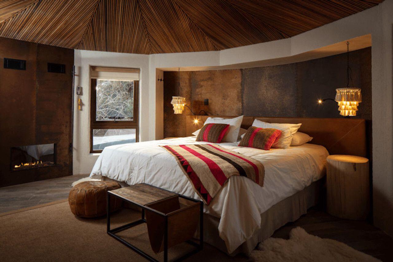 bed in Hotel Desertica Atacama, Atacama Desert