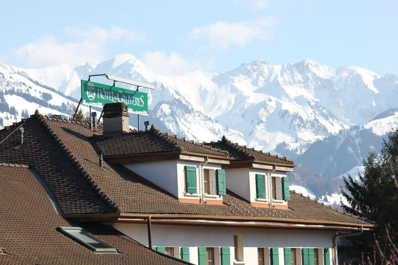 Hotel de Gruyeres in Switzerland has some of the best views in the country, Switzerland views