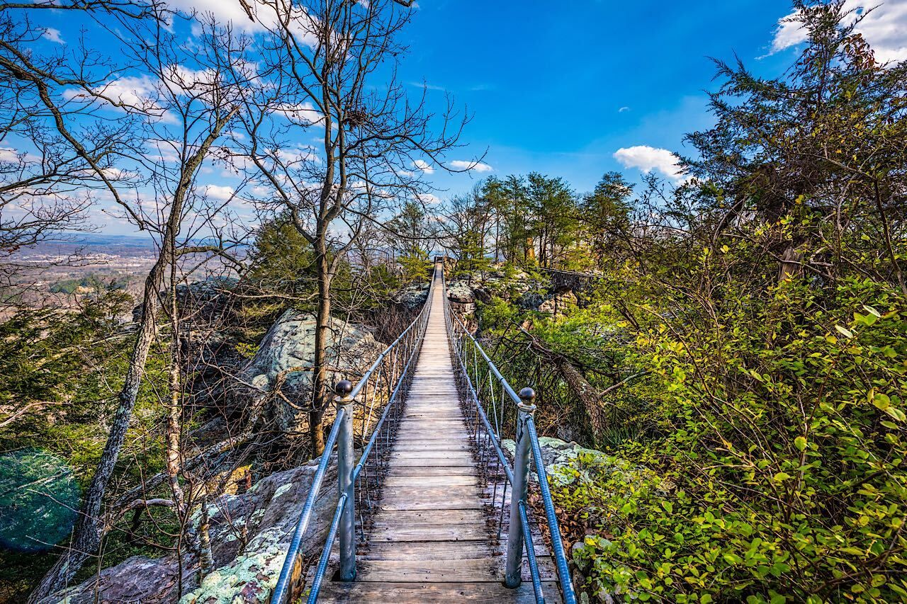 Rock,City,Gardens,In,Chattanooga,,Tennessee,,Usa, outdoor activities in Chattanooga