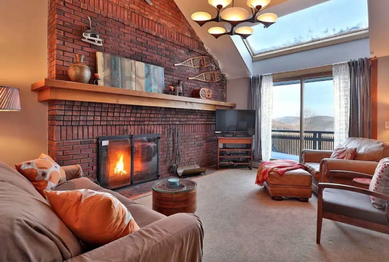 Killington-Airbnb-spacious-condo-eight-guests, Killington Airbnb