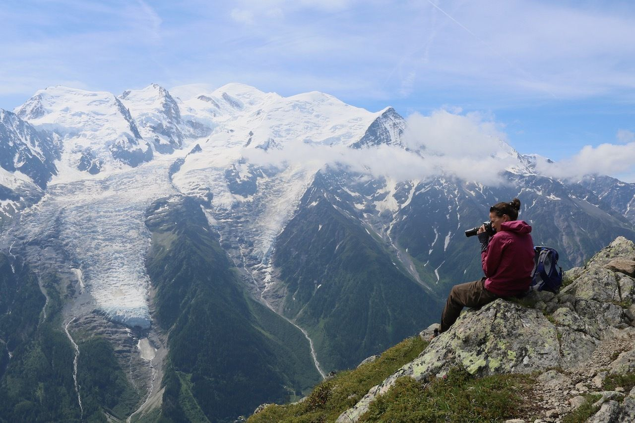 Le Brevent viewpoint, hikes to glaciers