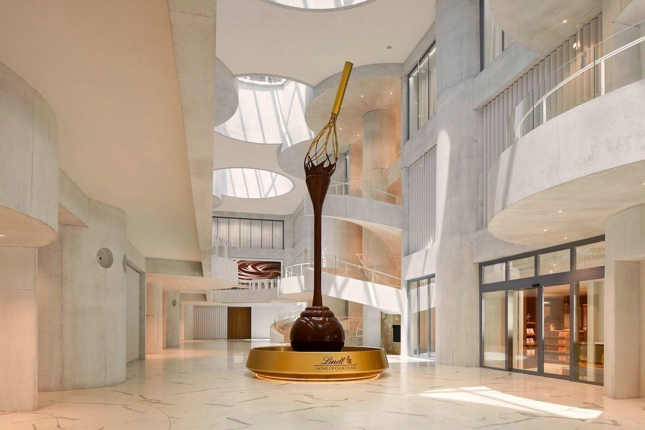 Lindt's Home of Chocolate to be visited during your one week in Switzerland, one week in Switzerland