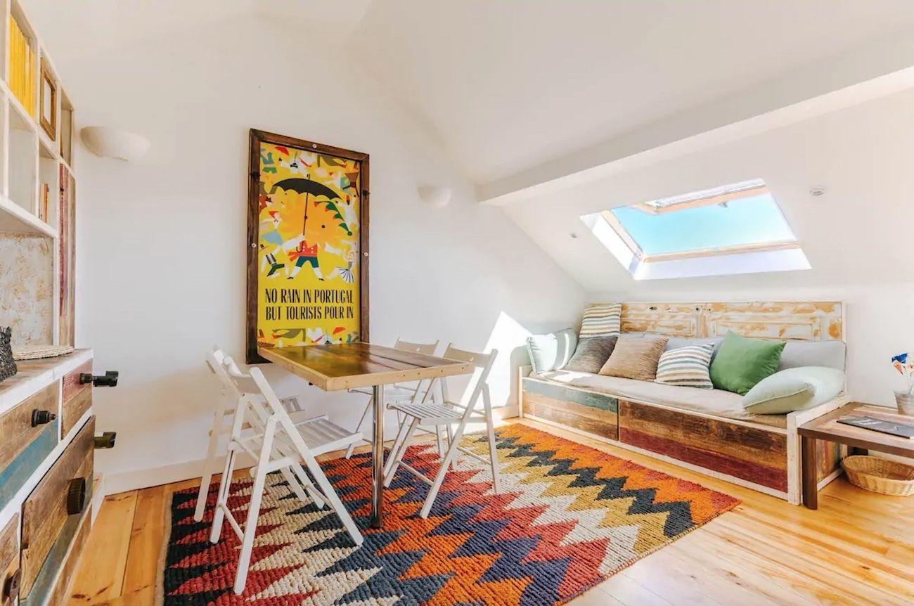 Artsy studio in Principe Real, Lisbon Airbnb