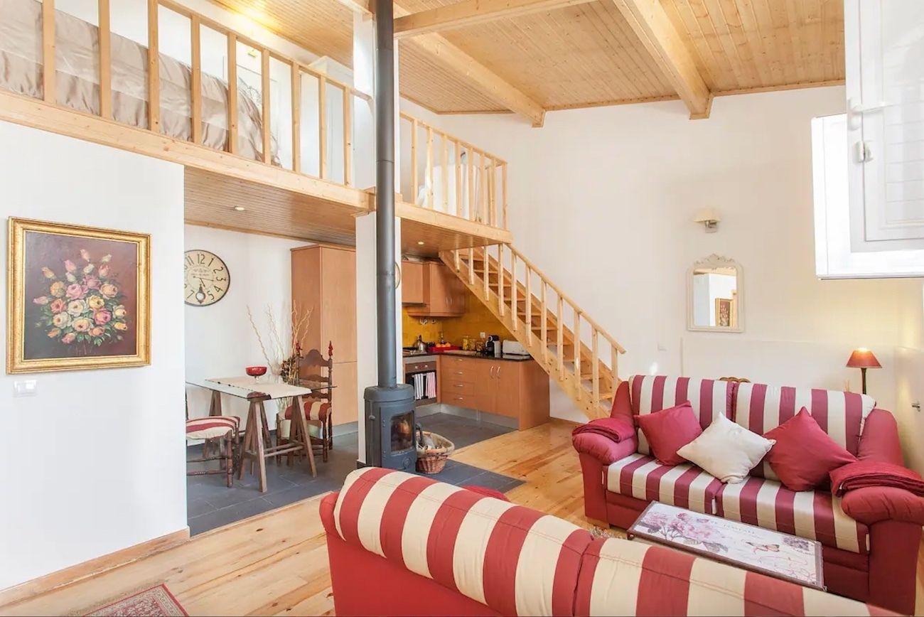 Luxurious studio in Chiado, Lisbon AIrbnb