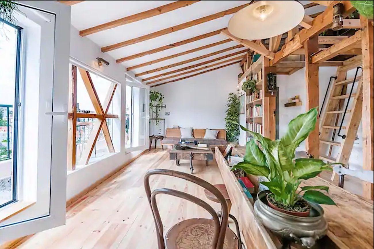 Tranquil apartment near Lisbon's botanical garden, Lisbon Airbnb