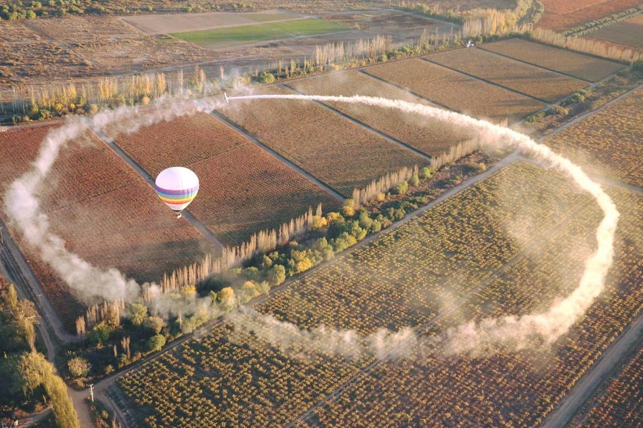 Mendoza Balloon,  Argentina's wine country