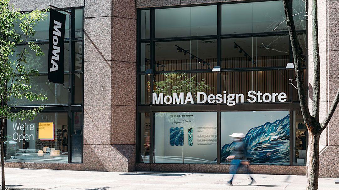 outside of MoMa design store New York City,The MoMA