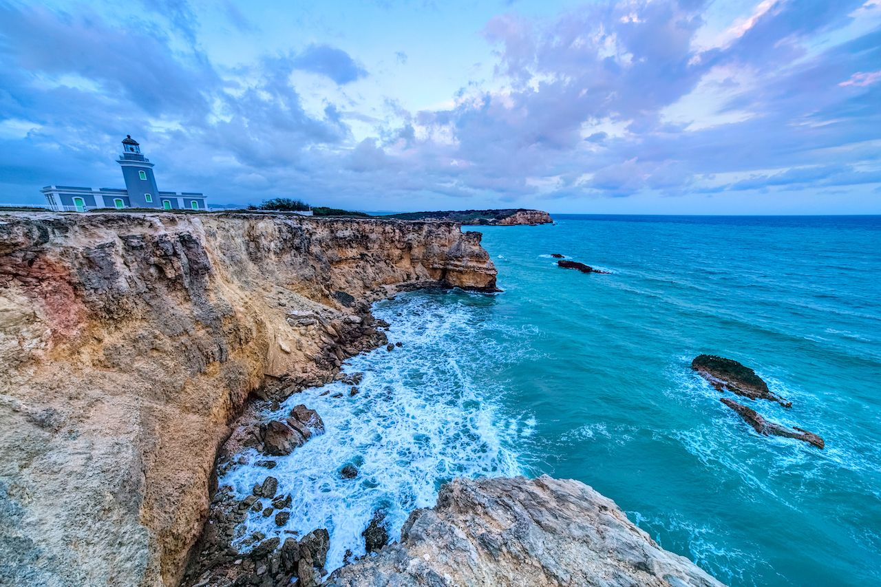 Sunset,At,Los,Morrillos,Lighthouse,,Cabo,Rojo,,Puerto,Rico, Puerto Rico by van