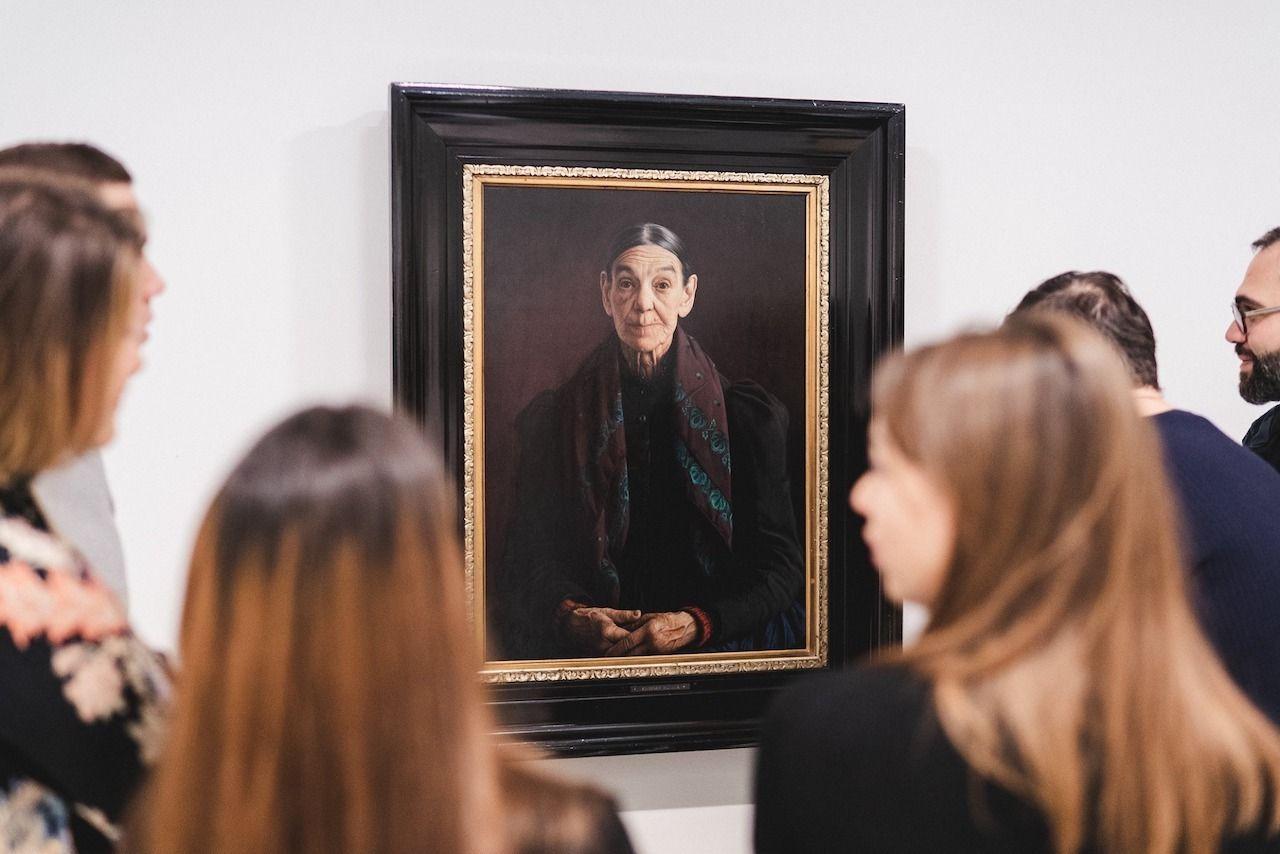 Portrait in Prague National Gallery Prague art and culture