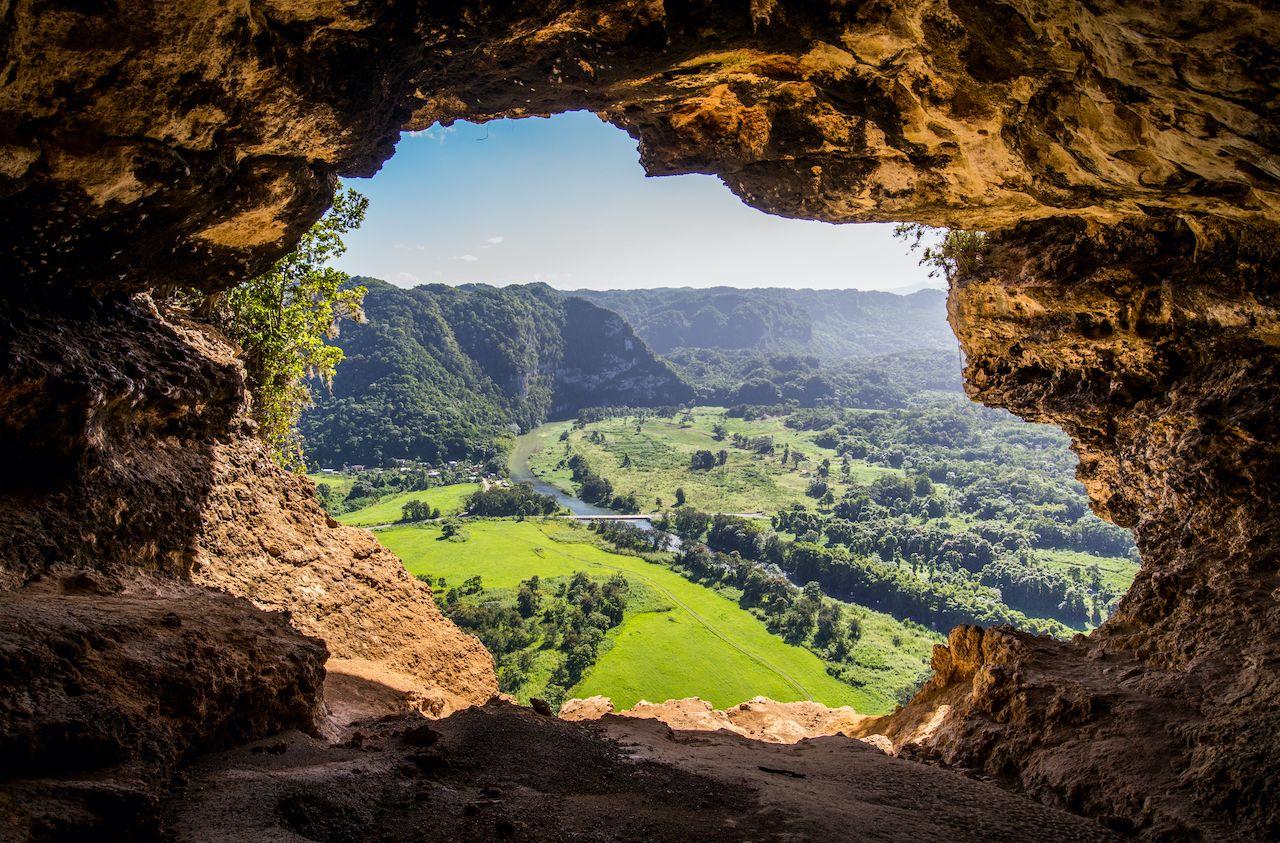Cueva,Ventana,-,Window,Cave,In,Puerto,Rico,,Usa. Puerto Rico by van