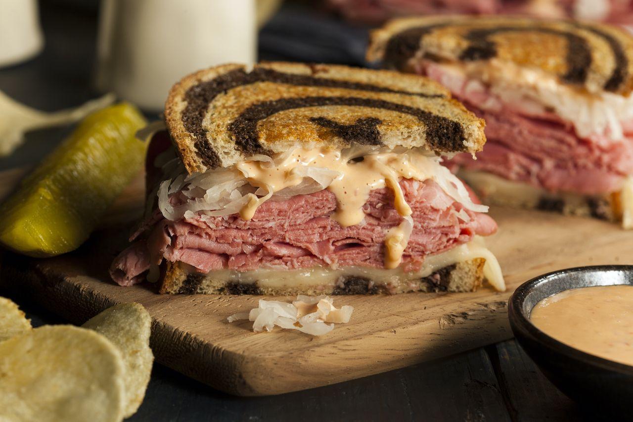 Homemade,Reuben,Sandwich, food names