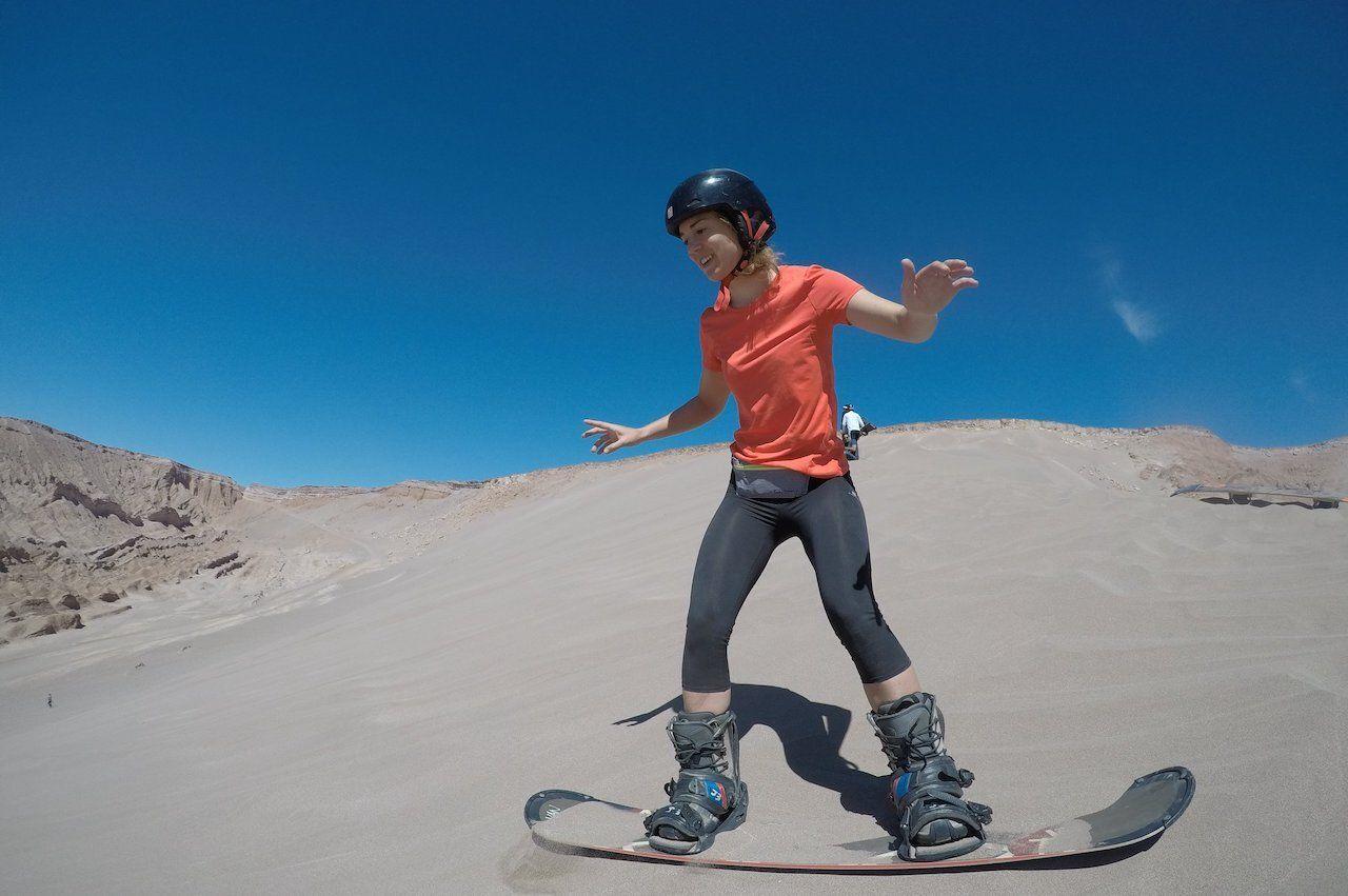 Sandboard San Pedro Atacama Chile, Atacama Desert