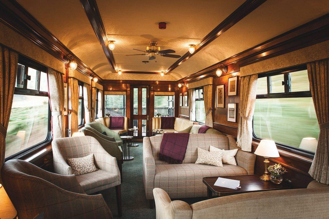 Scotch Malt Whisky Tour Royal Scotsman luxury Train interior