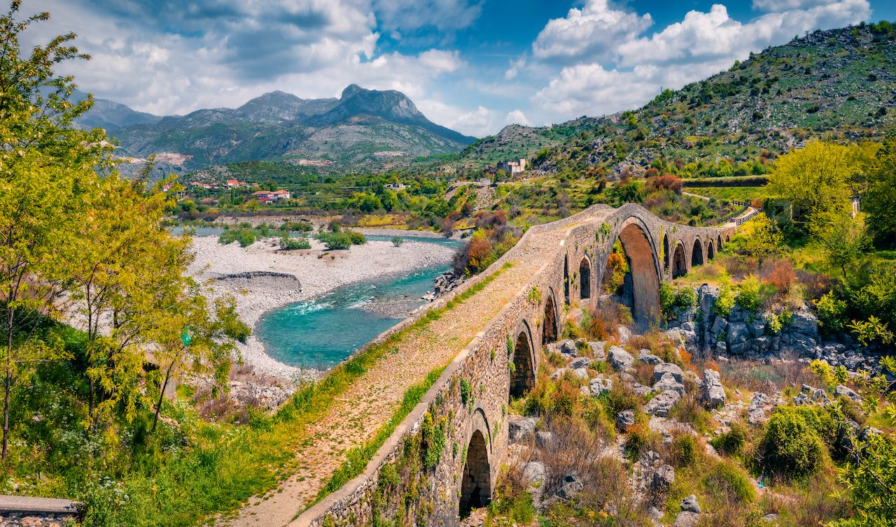 Attractive,Spring,View,Of,Old,Mes,Bridge.,Majestic,Morning,Landscape, Day trips from Dubrovnik