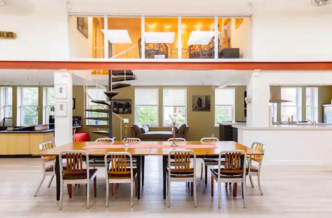 Stunning art-filled-loft-in-heart-of-city-Washington-DC-Airbnb, Washington, DC Airbnbs