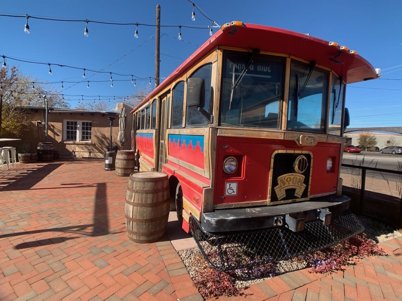 The-Painted-Lady-Bed-and-Brew-Albuquerque-Trolley-car, The Painted Lady Bed and Brew Albuquerque