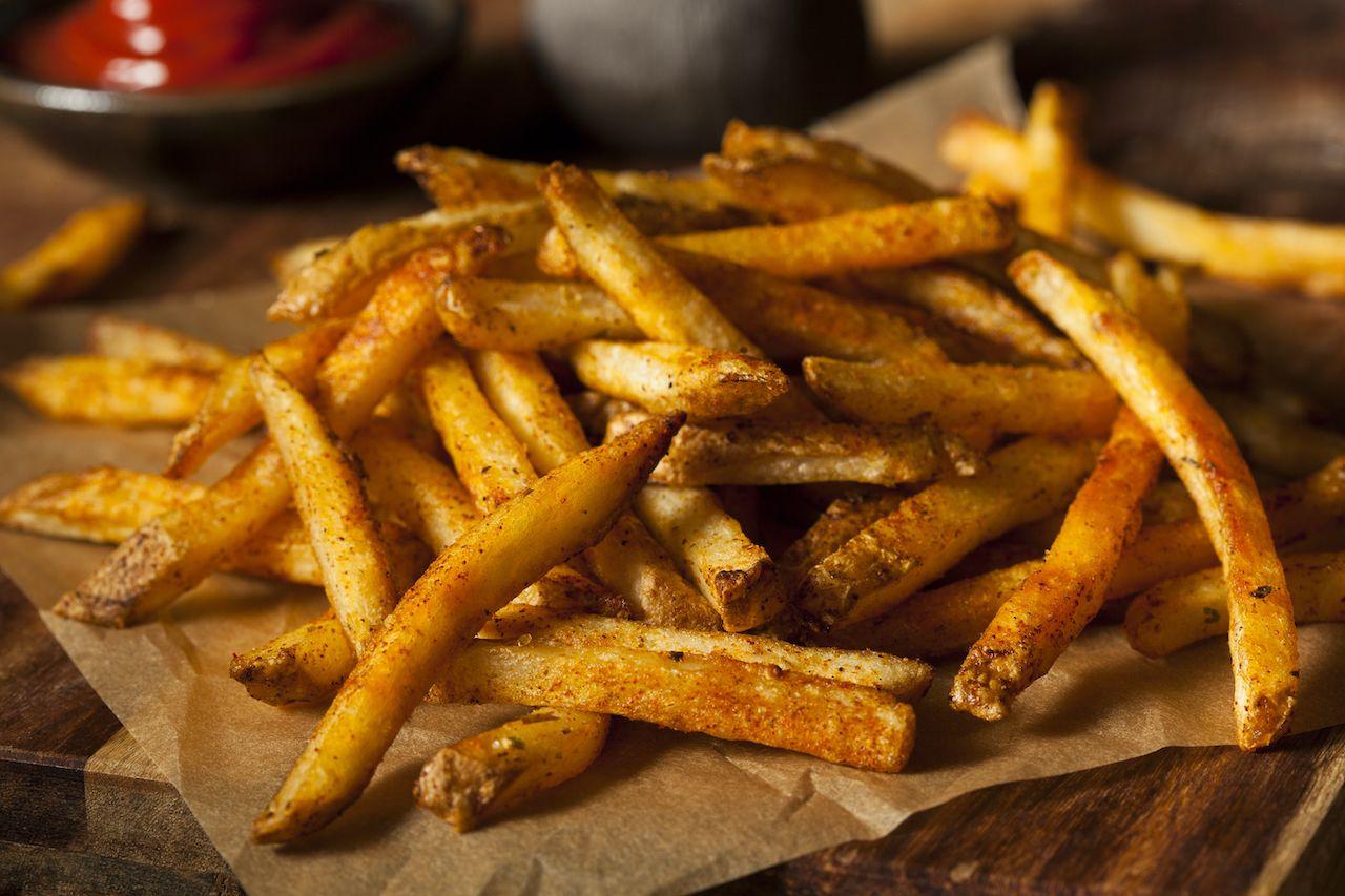 Cajun, french fries, food names