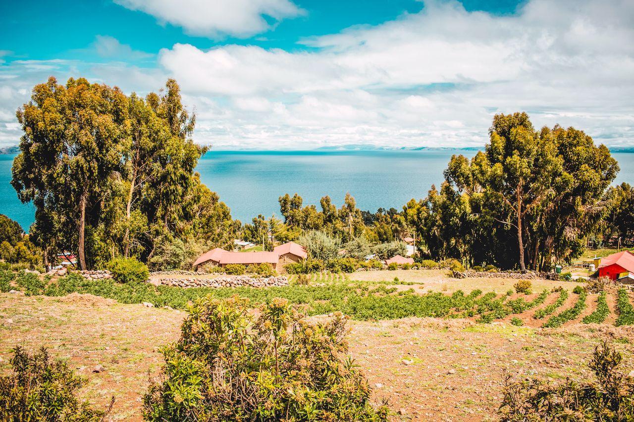 amantani island on the shores of lake titicaca in peru, Uros Islands