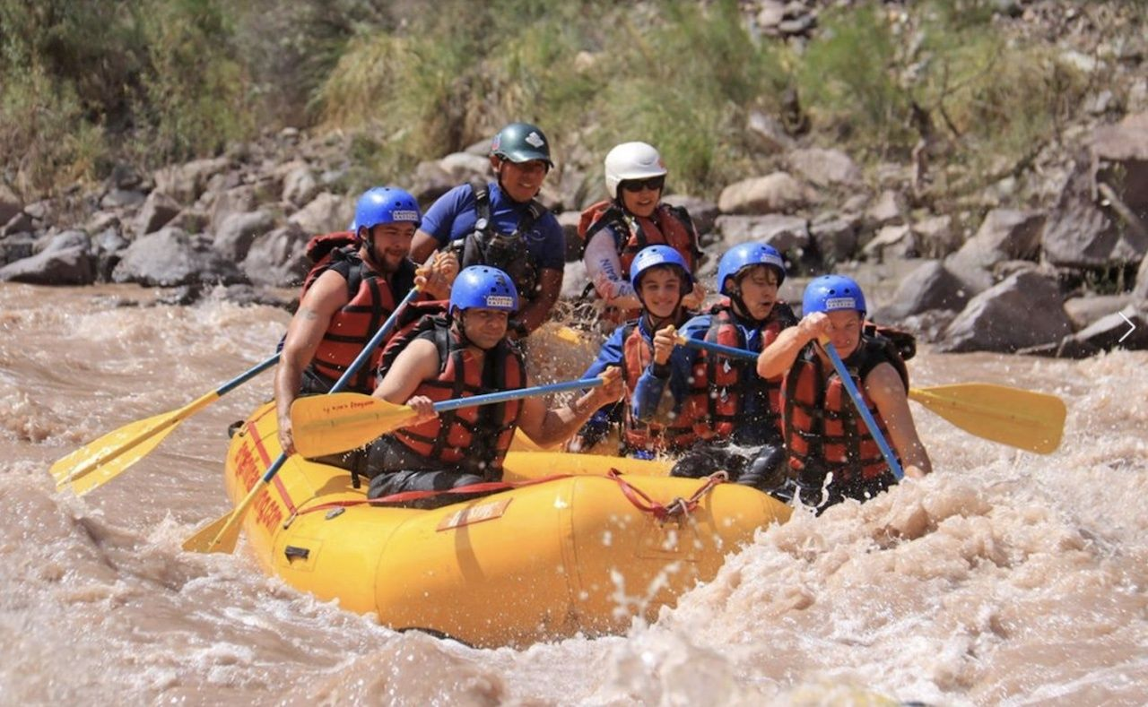 argentina rafting Mendoz, Argentina's wine country
