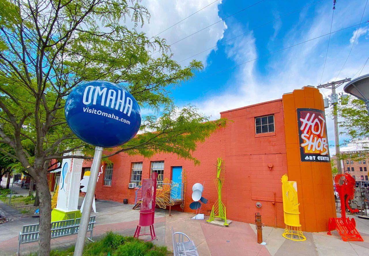artists' collective Hot Shops Art Center Experiences Nebraska, experiences Nebraska