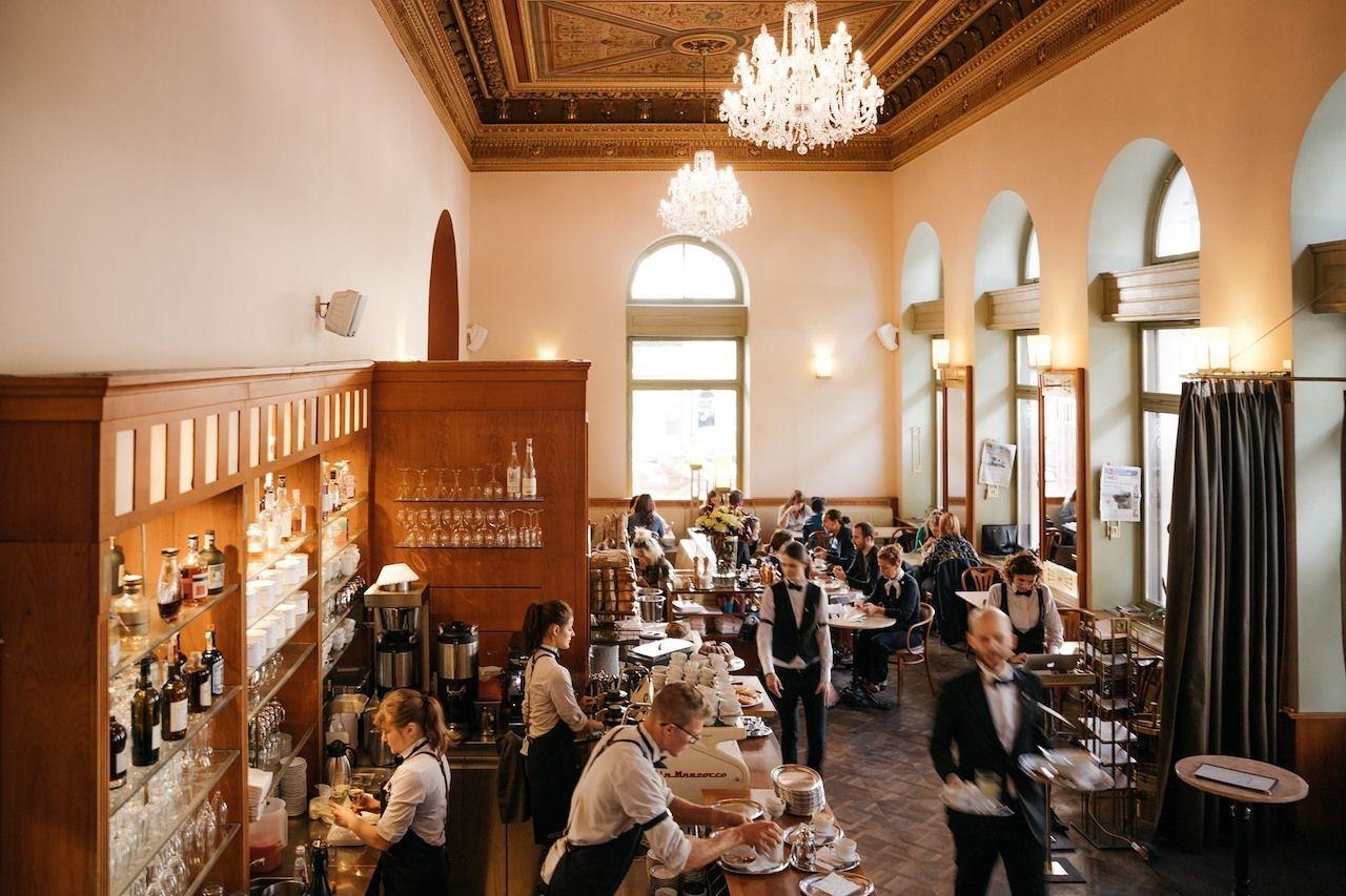 Cafe Savoy, best prague restaurants