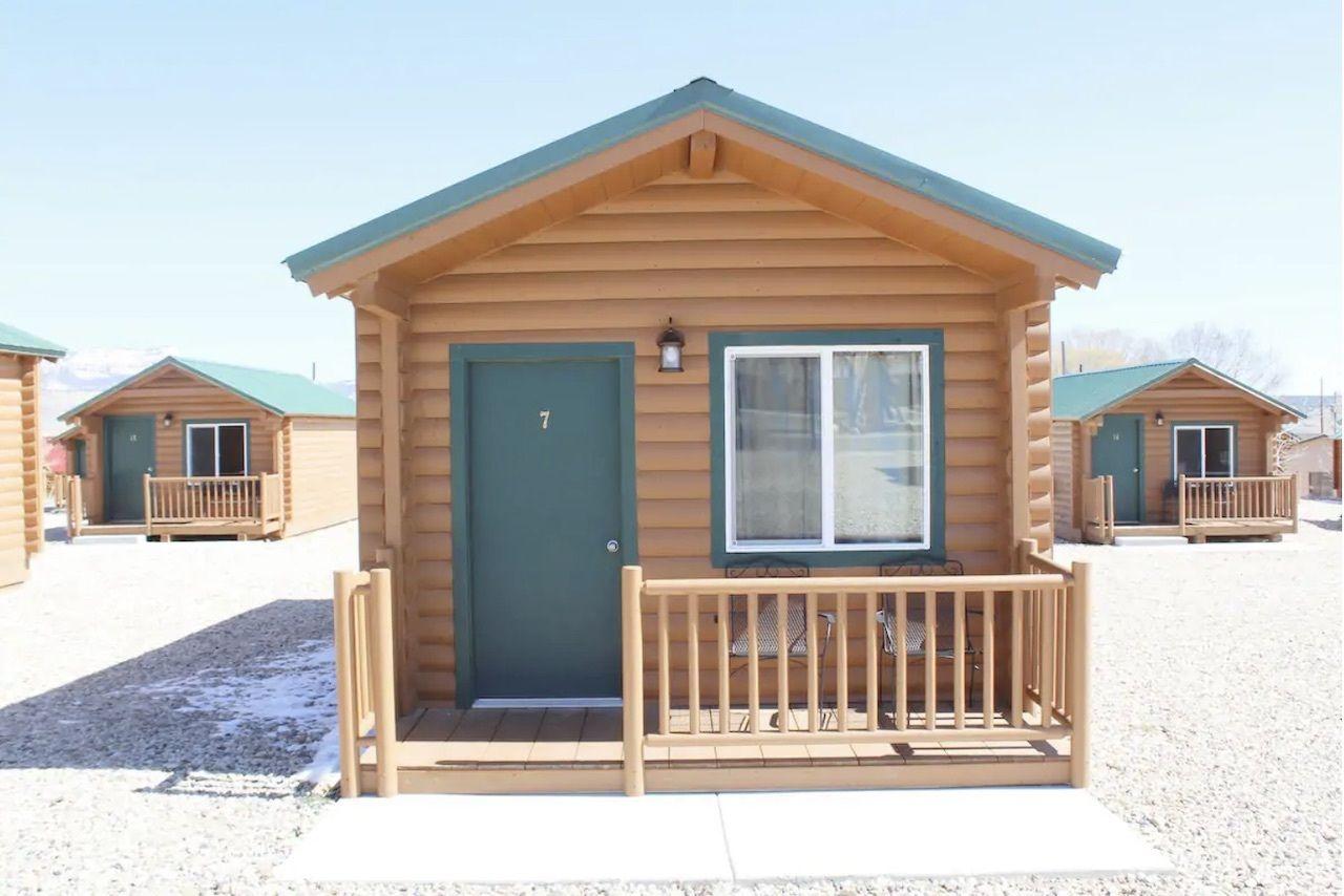 cottage, Utah's national parks
