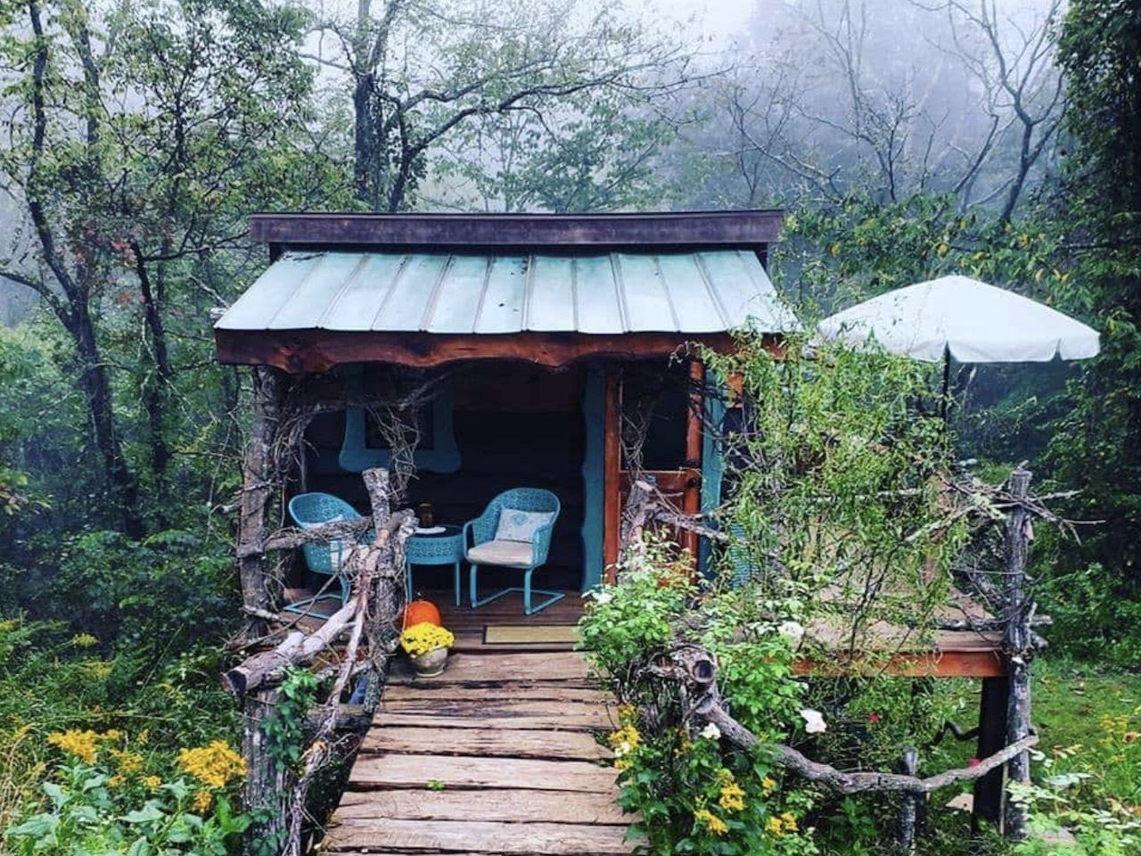 glamping, Airbnbs in Asheville