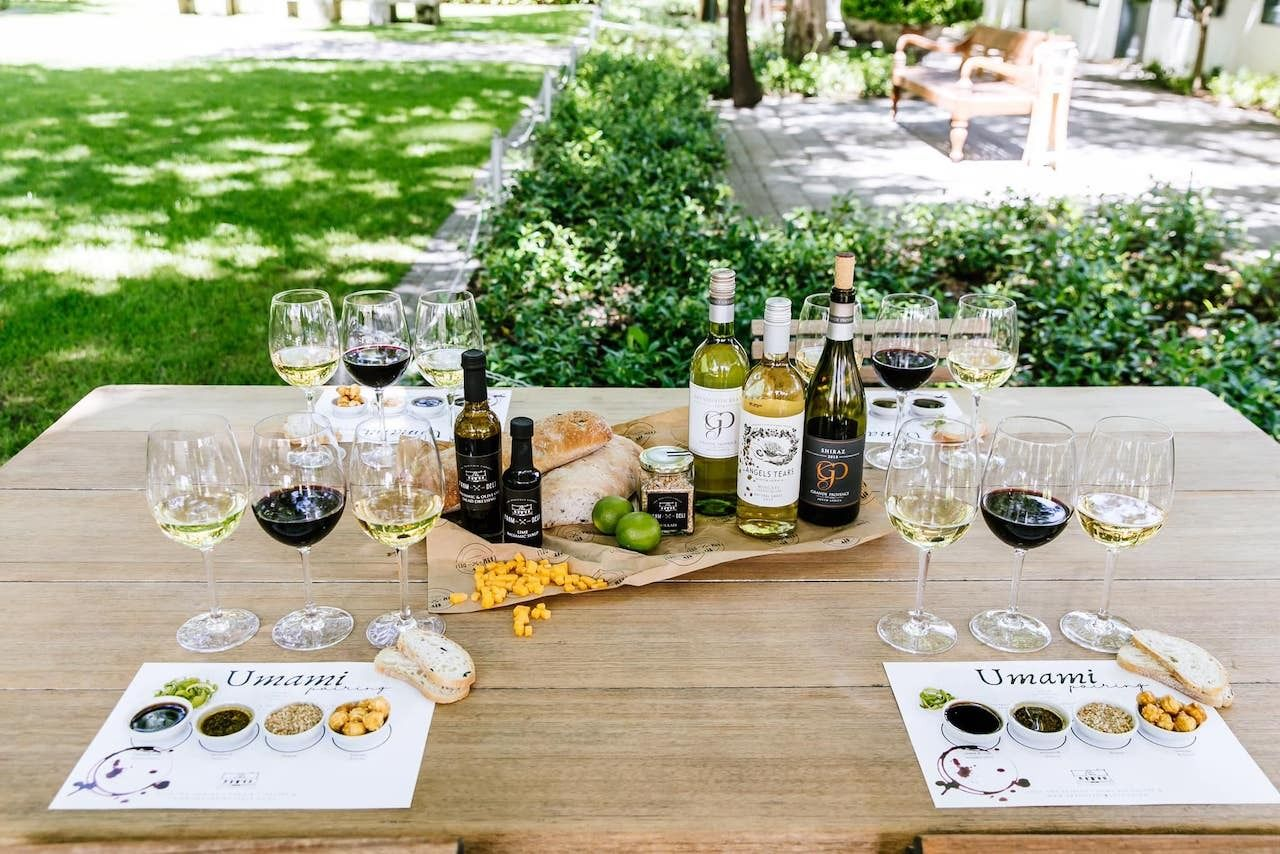 Franschhoek Wine Tram, Grande Provence Heritage Wine Estate tasting