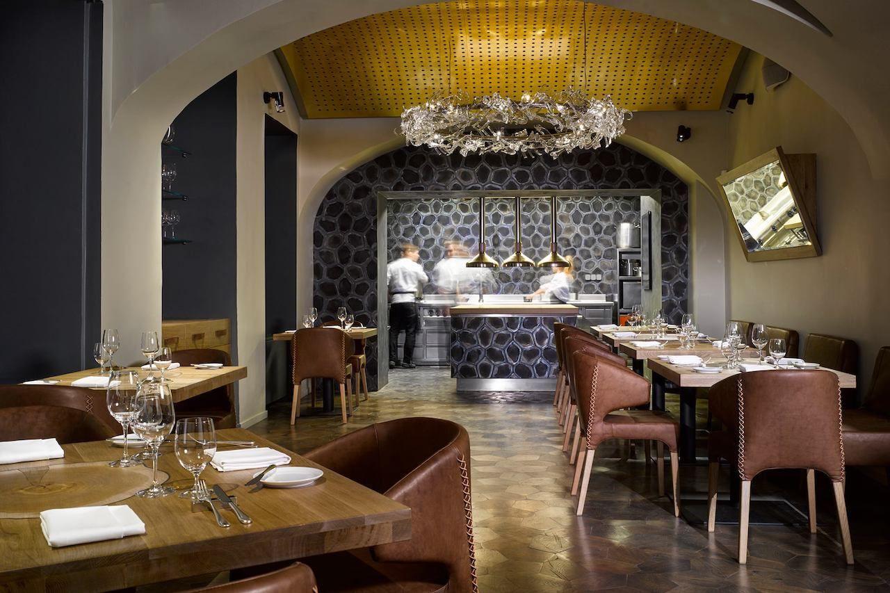 prague restaurants, la degustation boheme prague