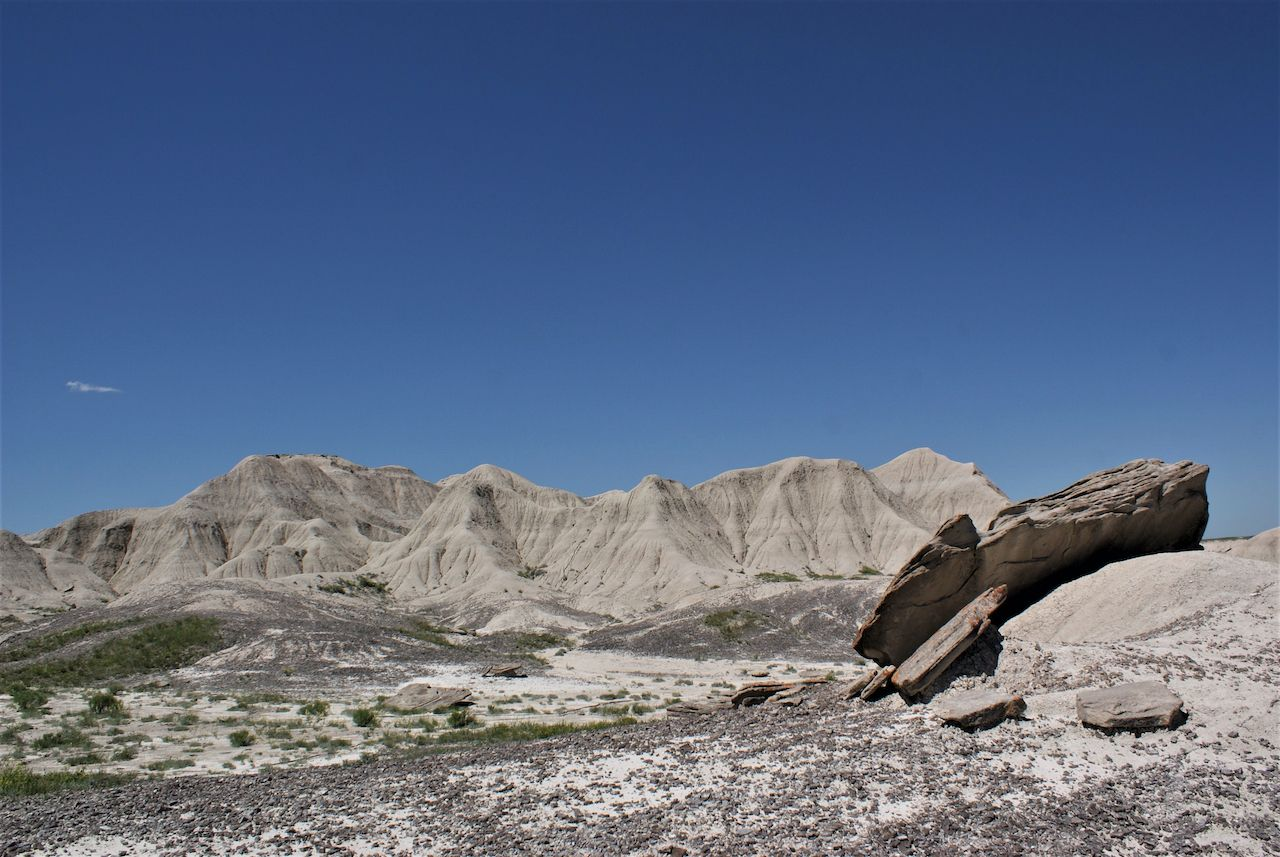 Rock formations at Toadstool Geological Park in Western Nebraska, experiences Nebraska