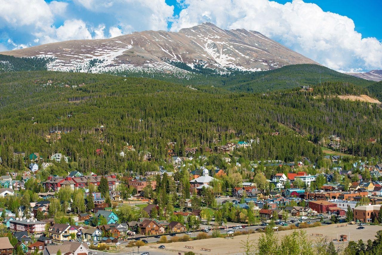 Spring,In,Breckenridge,,Colorado.,Sunny,Day,In,The,Valley, sustainable travel in Breckenridge