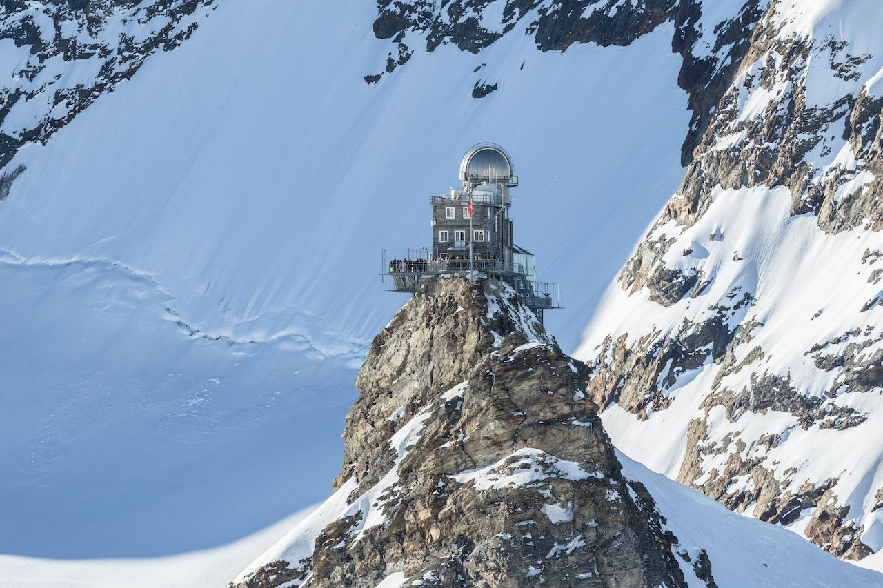 View,Of,The,Sphinx,Observatory, one week in Switzerland