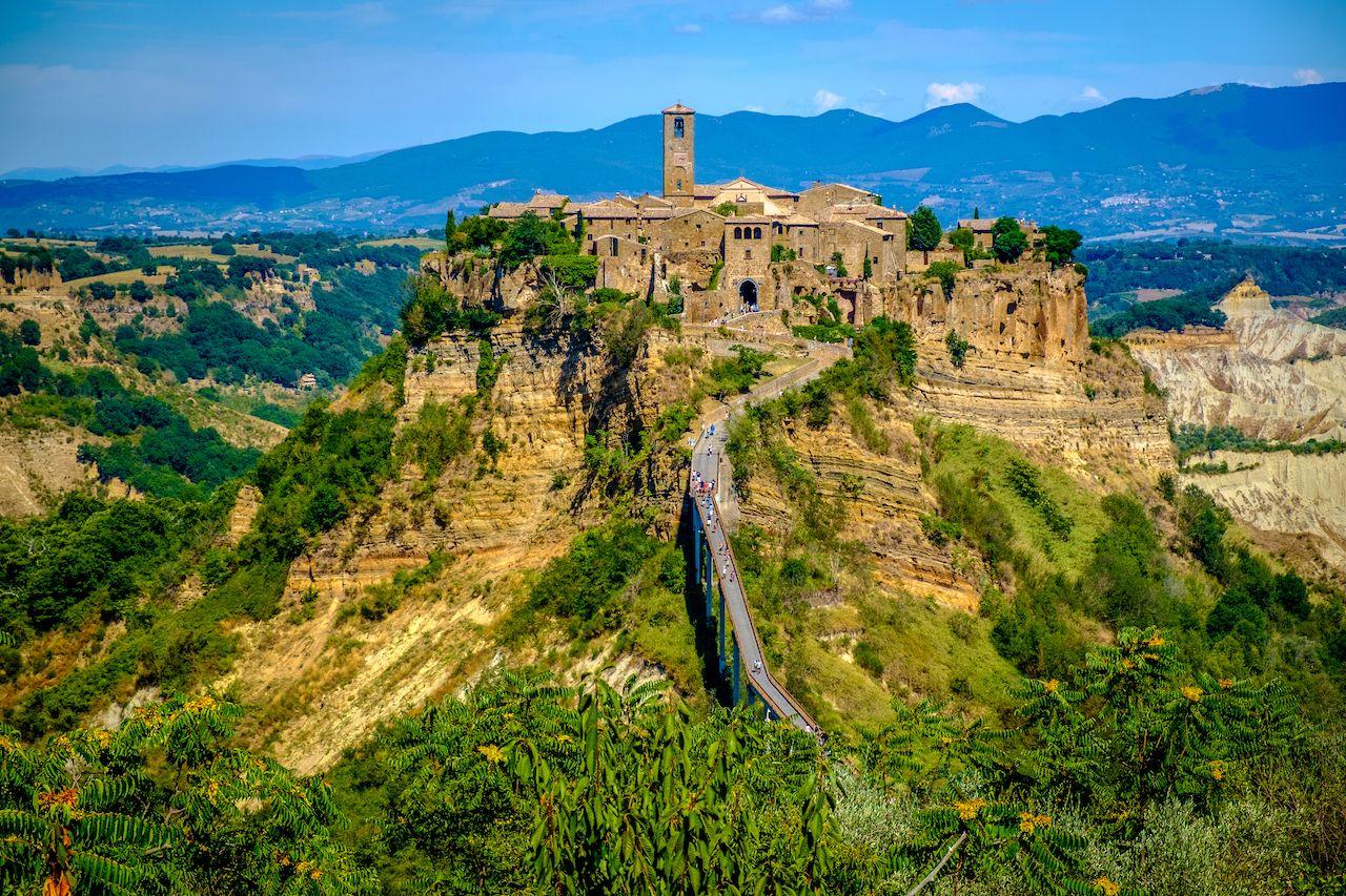 Civita,Di,Bagnoregio,-,Ancient,Town,In,Italy,  Tuscia town