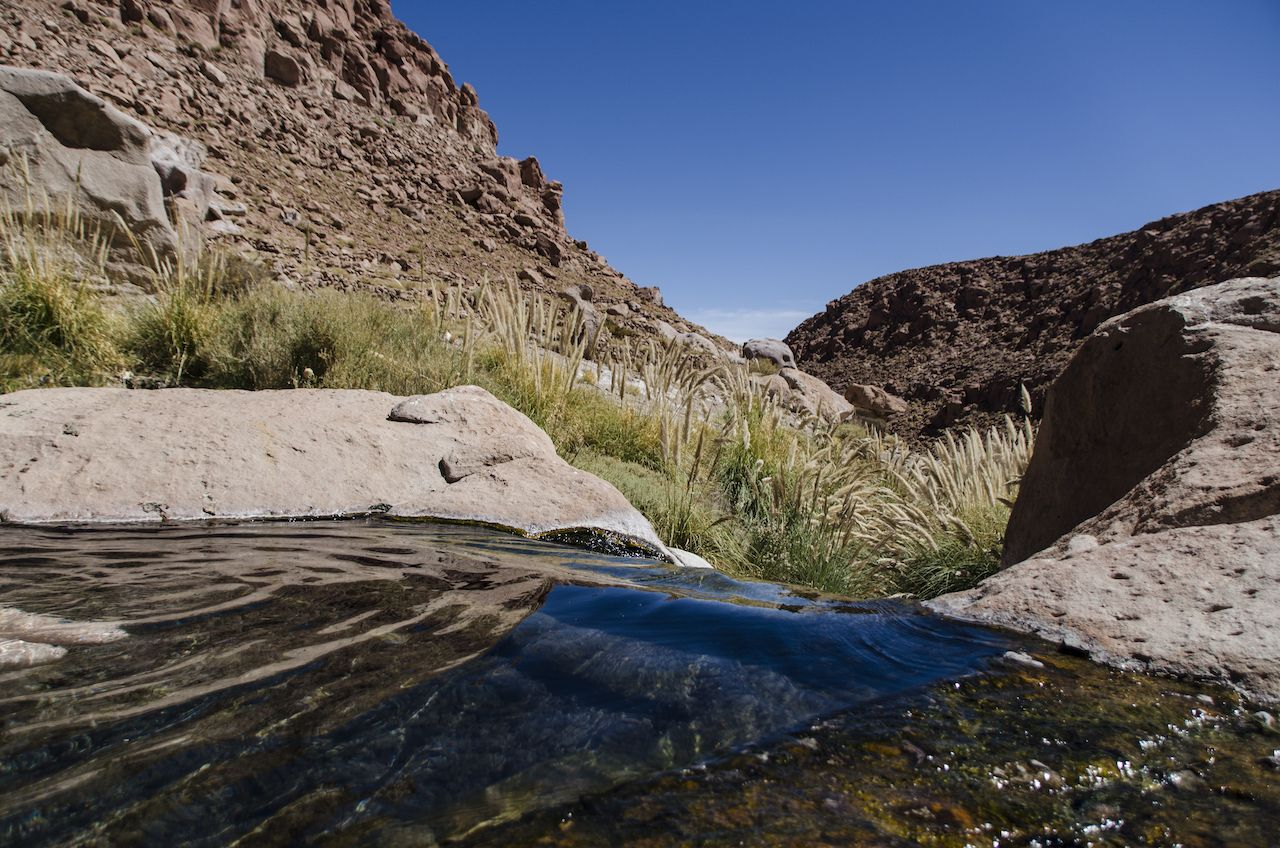 Termas de  - Puritama thermal baths, Atacama Desert