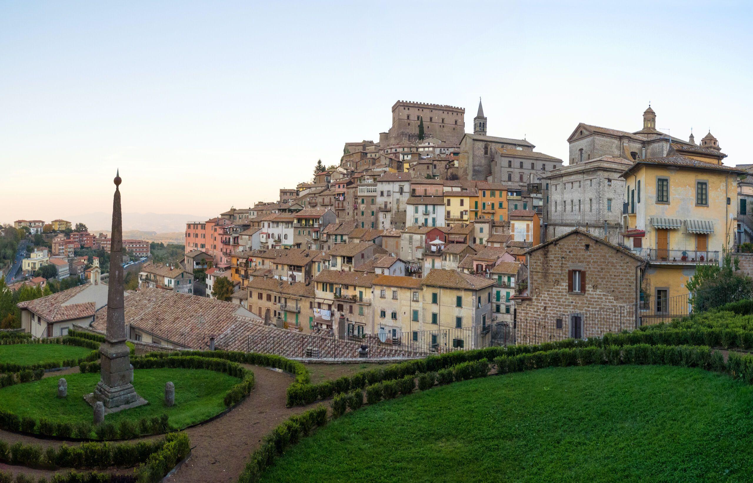 Soriano,Nel,Cimino,,Italy,-,17,October,2017,-,A, Tuscia town