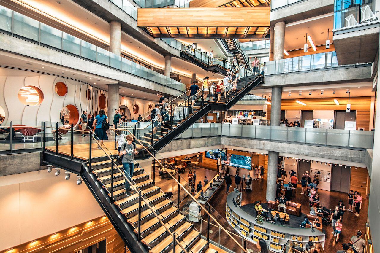 Austin,,Texas,,Usa-13,July,2019Ôºötexas,Austin,Central,Library,,Austin,Public, Sustainable architecture