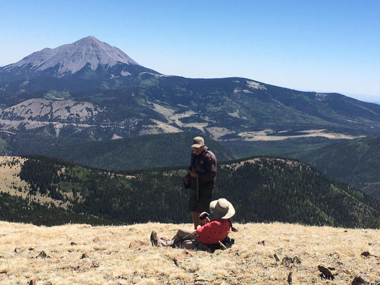 West Peak, Spanish peaks