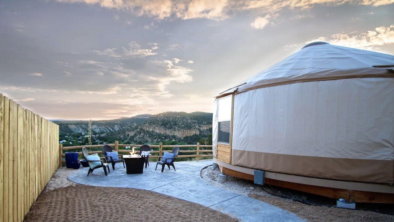 yurt, Utah's national parks