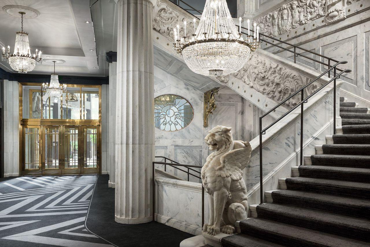 Atlanta-Boutique-the-Candler-Hotel-lobby, Atlanta boutique hotels