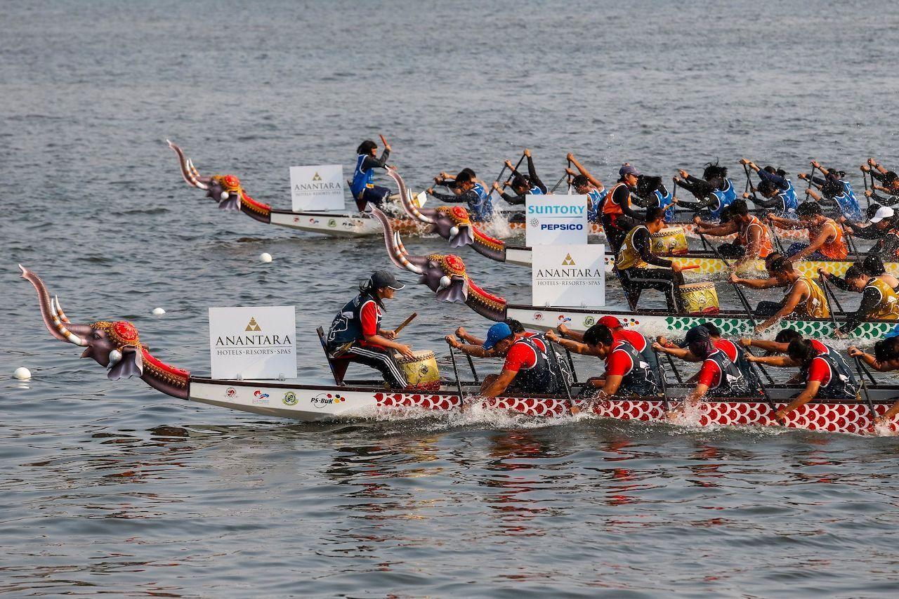 Elephant Boat Race & River Festival, bangkok events