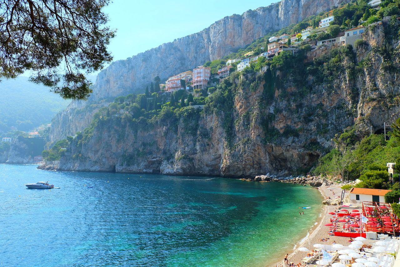 Cap,D'ail,,France Monaco on a budget