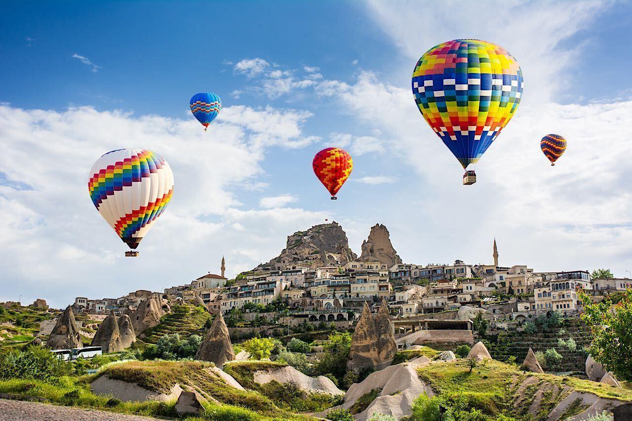 The,Great,Tourist,Attraction,Of,Cappadocia,-,Balloon,Flight.,Cappadocia,  Cappadocia